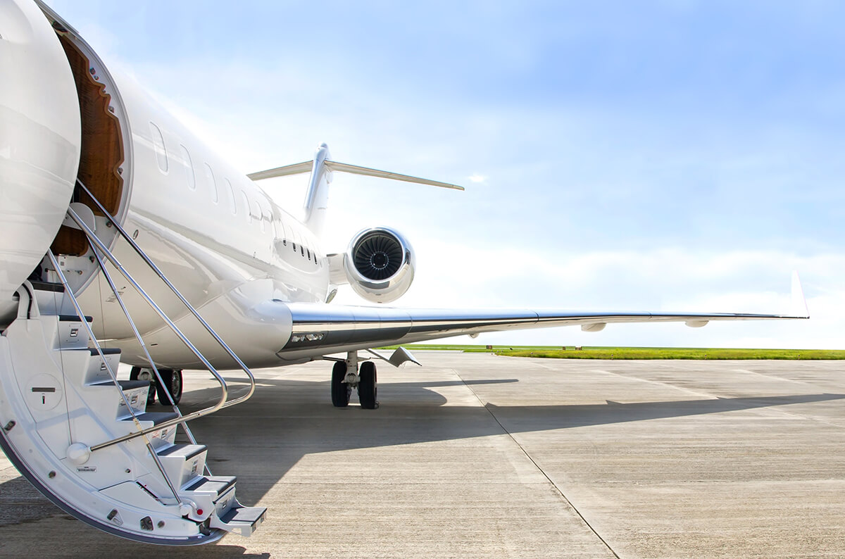 Flying private with jet aviation