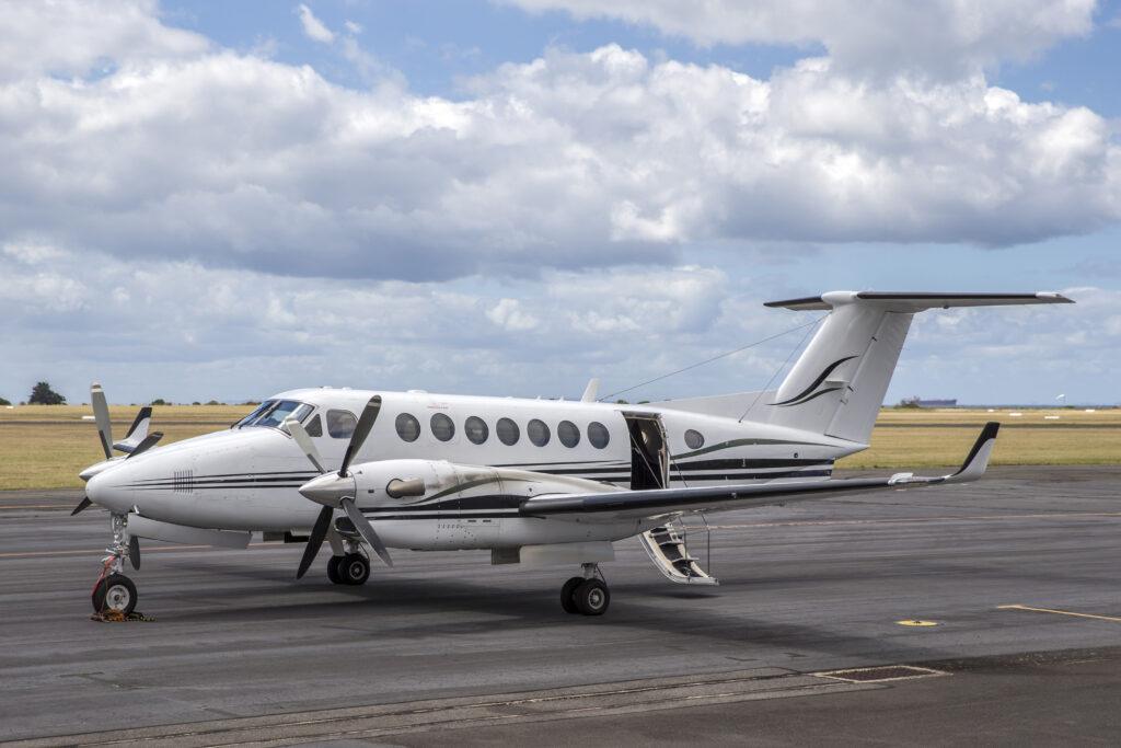 Beechcraft King Air on tarmac